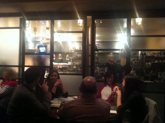 BlackSalt Fish Market & Restaurant : Open kitchen concept
