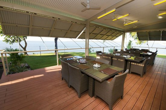 Melville Island Lodge dining area