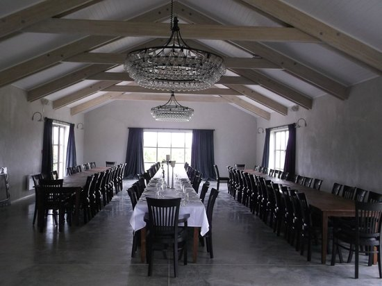 Poppies Martinborough: The magnificent room for venues / weddings