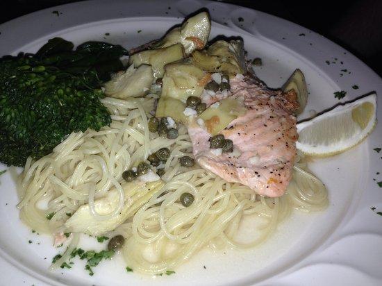Marcello's Cucina Italiana: Salmon Piccata