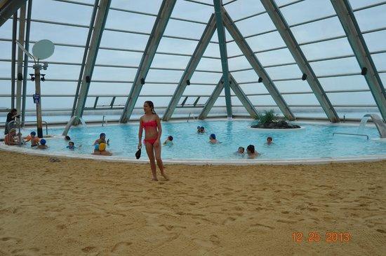 Salt Pool Under Pyramid Picture Of San Alfonso Del Mar Algarrobo Tripadvisor