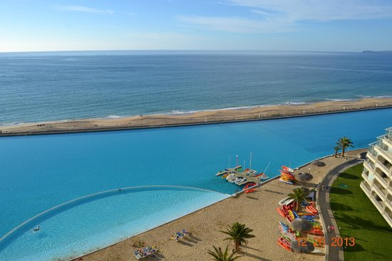 San Alfonso del Mar: view