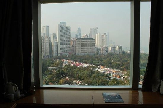Metropark Hotel Causeway Bay Hong Kong: City view from room