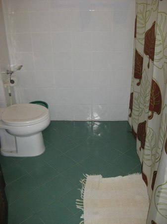 The Elephant Crossing Hotel: Spacious bathroom