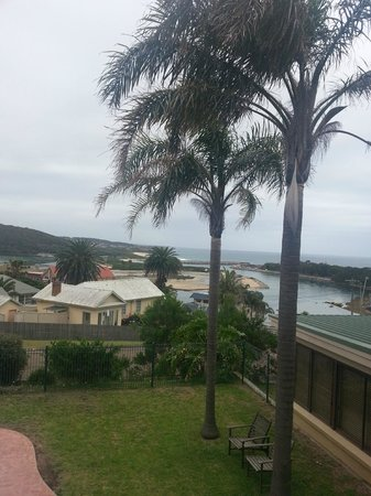 Whale Motor Inn: View from room