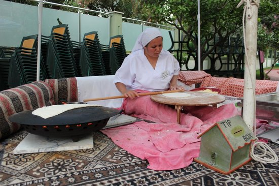 Ananas Otel : турецкие лепешки