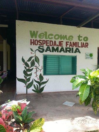 "Finca Samaria : Main entrance ""Samaria"""