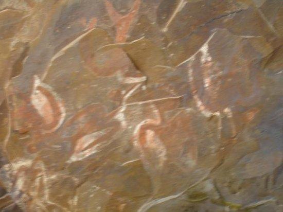 Ana Kai Tangata: Pintura rupestre