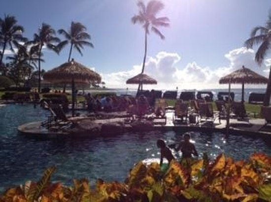 Sheraton Kauai Resort: Great pool!
