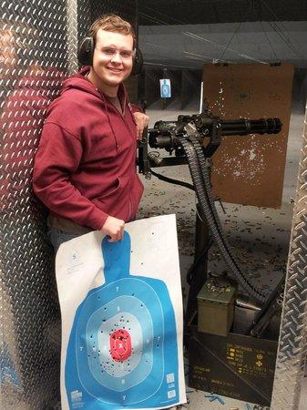 Battlefield Vegas: Machine gun