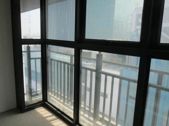 Amanta Ratchada Serviced Apartment Bangkok Hotel: Balcony