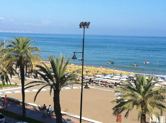 Melia Costa del Sol : The Med from our Room