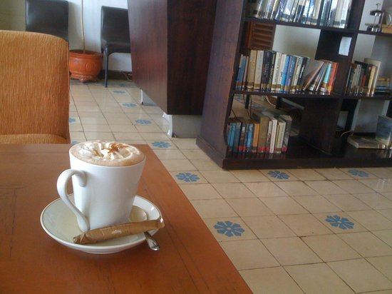 Ministry of Coffee: Mexico coffee at Library on 2nd floor