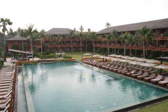 Hansar Samui Resort: View from breakfast
