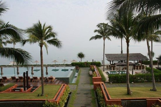 Hansar Samui Resort: View from our room