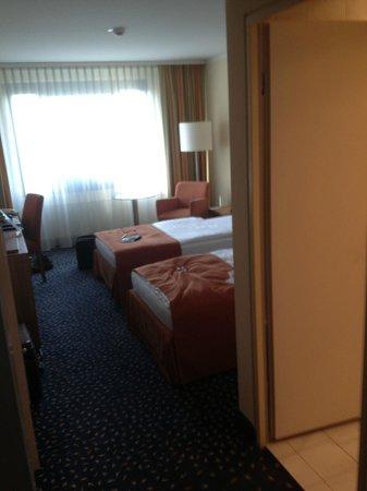 Holiday Inn Stuttgart: My room on Floor 6