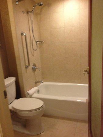 Outrigger Reef Waikiki Beach Resort: shower/ bath