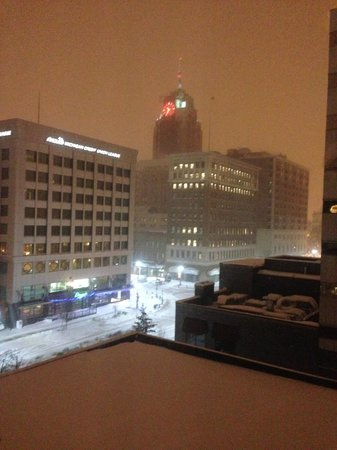 Radisson Hotel Lansing at the Capitol: what a view