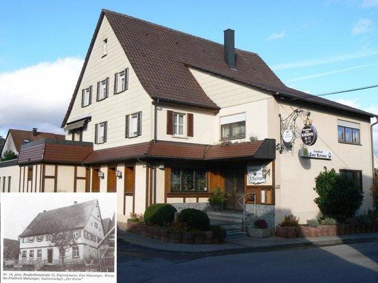Gasthof Zur Krone: Haupthaus mit Gastsstube