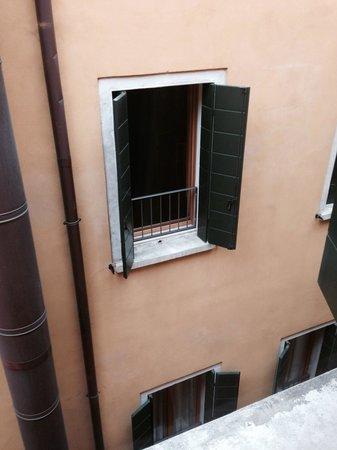 Palace Bonvecchiati: View from the room