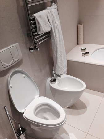 Palace Bonvecchiati: Restroom
