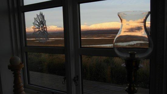Hofsstadir Guesthouse: view from restaurant