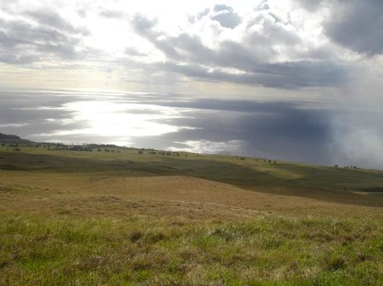 Maunga Terevaka : Vista desde la cima