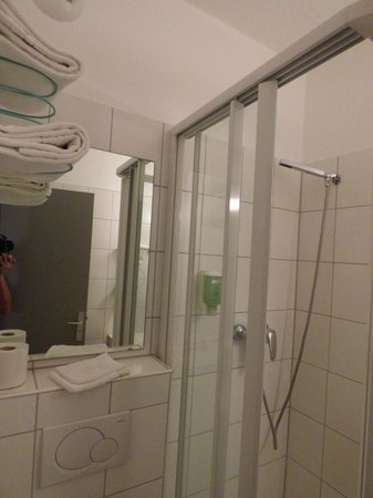 Comfort Hotel Strasbourg Ouest : Shower