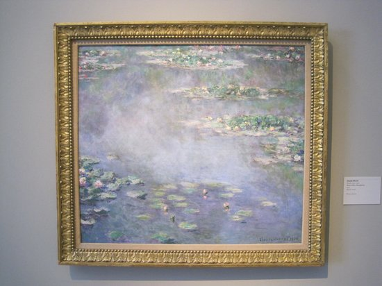 Museum of Fine Arts, Houston : I spotted a Monet!