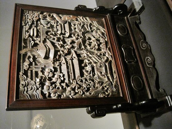 Museum of Fine Arts, Houston : One of the Asian art pieces