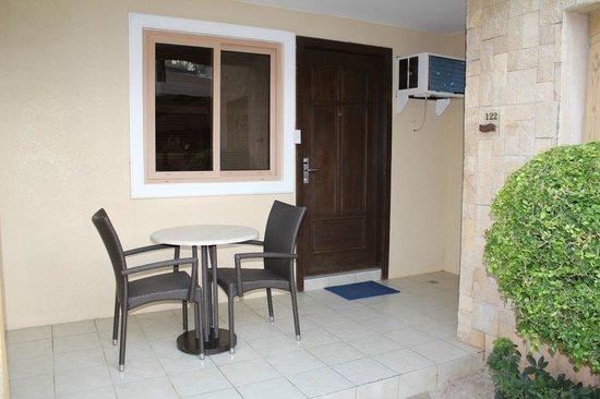 Boracay Regency Beach Resort & Spa: External view of our room