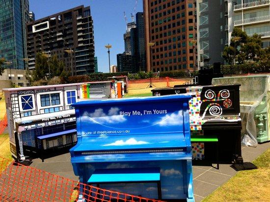 Arts Centre Melbourne: Play me pianos for instalment