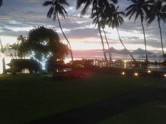 The Warwick Fiji : Beautiful sunset