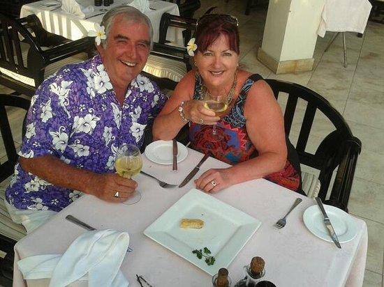 The Warwick Fiji : Dinner at Pappagallo