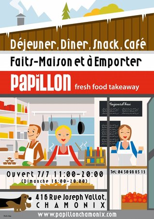 Papillon - fresh food takeaway