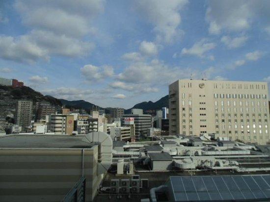 JR Kyushu Hotel Nagasaki : 部屋からの眺めです。