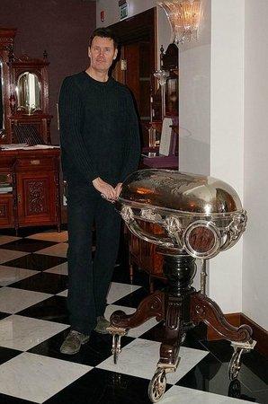 Pera Palace Hotel, Jumeirah: ресторан Агата