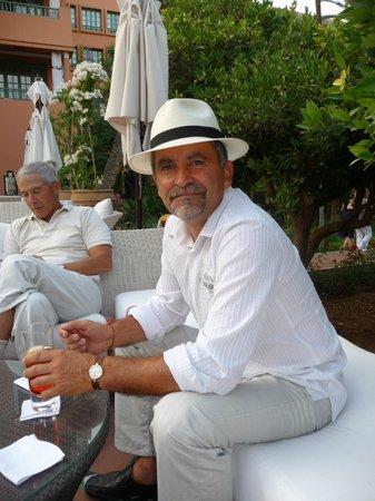 La Mamounia Marrakech: bar extérieur