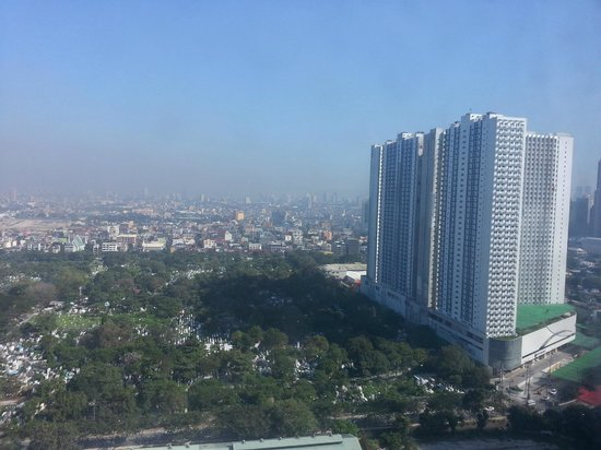 One Pacific Place Serviced Residences: View from our room
