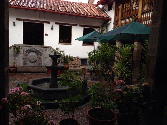 Hotel Rumi Punku: Vista desde la habitación