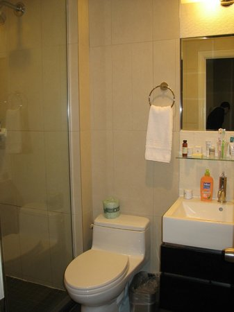 Hotel Belleclaire: Salle de bain