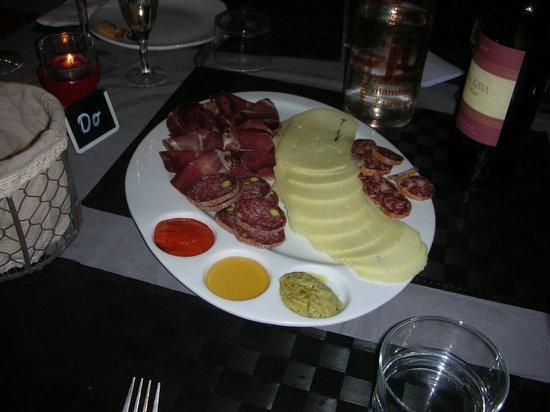 L'Ouverture Restaurant Musical : Antipasto