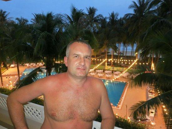 Amaryllis Resort & Spa: скоро Рождество! Вид из номера