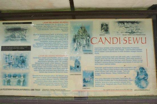 Candi Sewu (Sewu-Tempel): information on Sewu Temple