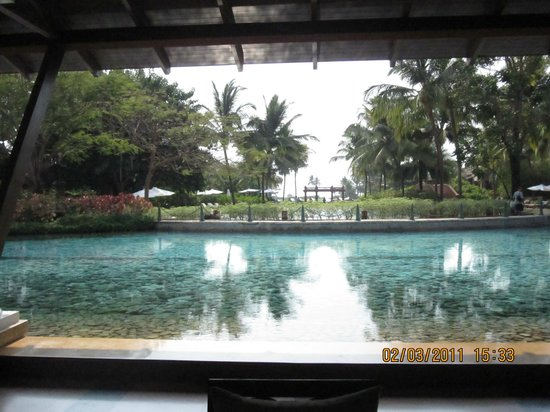 Park Hyatt Goa Resort and Spa : View from Reception