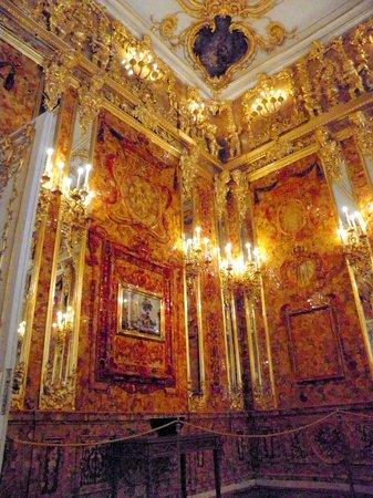 Catherine Palace and Park: sala d'ambra