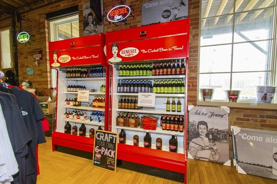 Genesee Brew House: Samples to take home