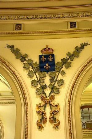 Parliament Building (Hotel du Parlement): Seal