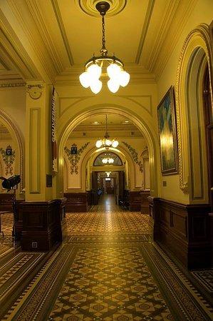 Parliament Building (Hotel du Parlement): Corridor