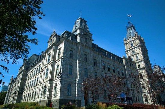 Parliament Building (Hotel du Parlement): Outside view